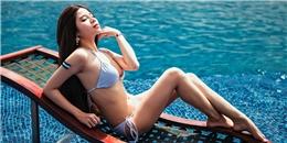Hot girl Thỏ Ngọc Phạm nóng bỏng cỗ vũ thần tượng Messi