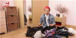 """[Mẹo hay 180] Cách xếp quần áo một cách """"tài tình"""" vào vali"""