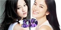 Song Hye Kyo và Trần Kiều Ân 'quá chén' trong tiệc tụ hội xuyên đêm