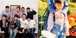[Mlog Sao] Siwon khoe 'gia đình' Super Junior,Junho (2PM) khoe hình thuở bé cực đáng yêu