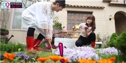 [We Got Married] 'Thần mưa' Key - Ari vụng về lần đầu cùng nhau làm vườn