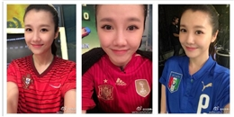 World Cup 2014: Nữ MC xinh đẹp bị gán mác 'quạ đen'