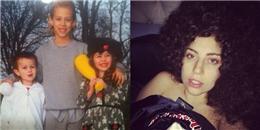 [Mlog Sao] Miley Cyrus khoe ảnh đáng yêu khi bé, Lady Gaga tạo kiểu tóc 'mì gói'