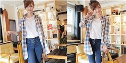 Jean cạp cao - Item không thể thiếu trong tủ quần áo của các nàng