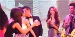 """[Clip] Lam Trường """"bày trò"""" ép vợ chồng Trà My Idol khóa môi trong đám cưới"""