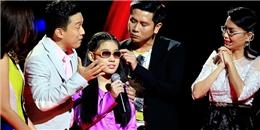 [Giọng hát Việt nhí] Bộ tứ HLV và khán giả xúc động với thí sinh khiếm thị đầy tài năng