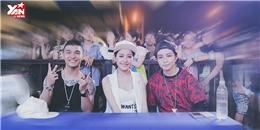 [Theo dấu sao] Cường Seven  hội ngộ  Chi Pu trong ngày hội Nhảy cùng Nestea Xua tan nắng hè 2014