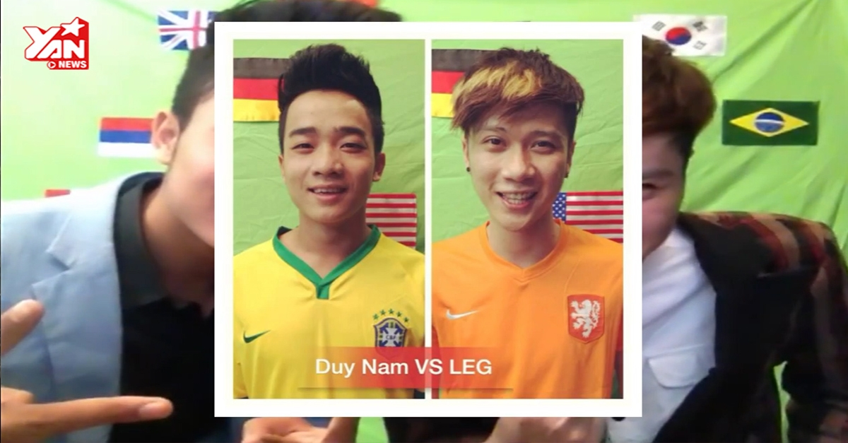 Vanh LEGG gây sốt với 'Em của mùa World Cup' chế từ hit của Sơn Tùng