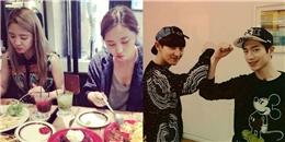 [Mlog Sao] Hyoyeon khoe hình dùng bữa cùng Yuri, Chanyeol 'đối đầu' với Seo Kang Joon