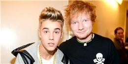 Ed Sheeran khuyên công chúng nên 'phớt lờ' Justin Bieber