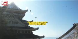 Nữ sinh Nhật Bản bày trò rượt đuổi nhau như ninja