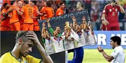 [Bóng Đá] Lột tả 32 đội bóng ở World Cup 2014 chỉ với 3 từ!