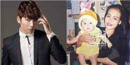 """Kelvin Huy Khánh khoe hình độc ngày bé """"siêu dễ thương"""""""