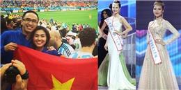 Bi hài chuyện sao Việt cầm ngược quốc kỳ