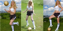"""[Bóng Đá] Choáng với """"trái bóng"""" siêu khủng của đội tuyển Đức"""