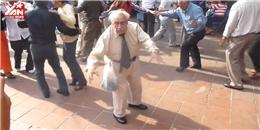 Xem cụ già biểu diễn vũ đạo khiến cả đám cưới...  bật ngửa