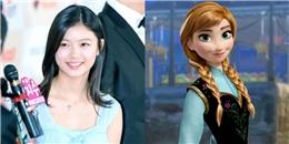 Kim Yoo Jung thích hợp với vai diễn Anna trong Frozen phiên bản Hàn.