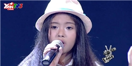 [Giọng Hát Việt Nhí] Giọng ca nhí tự tin hát hit của Thu Minh chinh phục HLV