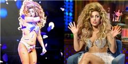 Lady Gaga rất tự hào về đường cong của cơ thể