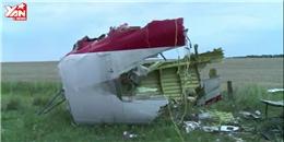 MH17 và những khoảnh khắc khi rơi xuống mặt đất