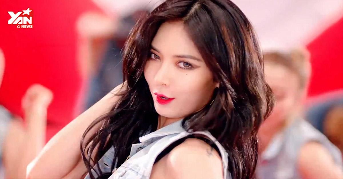 [Teaser] HyunA tiếp tục bốc lửa trong teaser tiếp theo của Red