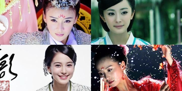 Điểm danh 10 mỹ nhân cổ trang mới của Hoa Ngữ