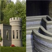Lâu đài đầu tiên được tạo ra từ công nghệ in bê tông 3D
