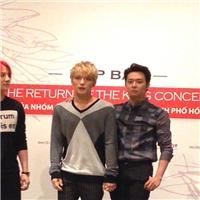 JYJ thân thiện với báo chí Việt Nam trong buổi ra mắt concert