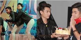 Isaac và Jun thân mật quá mức trên sân khấu khiến fan 'phát sốt'