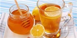 [[Sống khỏe] 6 lý do nên uống nước chanh với mật ong buổi sáng