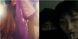 Taeyeon khoe hình cùng Tiffany, Sehun che nửa mặt nhắng nhít cùng Tao
