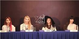 2NE1 tự tin và thân thiện trong buổi họp báo trước giờ G