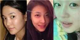 """""""Ngỡ ngàng"""" với mặt mộc của các nữ diễn viên hàng đầu Hàn Quốc"""