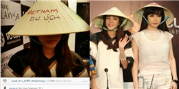 Fan Việt nức lòng khi Dara (2NE1) khoe hình đội nón lá 'Vietnam Du lịch'