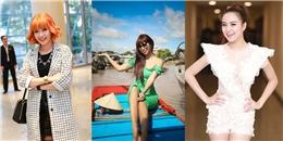 [Fashion Police] Hoàng Thùy Linh đẹp lộng lẫy, Phương Vy tự  dìm hàng  bản thân