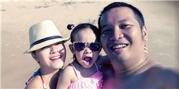 'Công chúa' nhà Quang Huy - Phạm Quỳnh Anh sành điệu khi đi biển