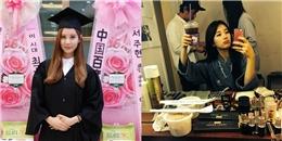 [Mlog Sao] Seohyun xinh đẹp trong lễ tốt nghiệp, Suzy tự sướng trước khi trang điểm