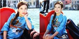 Triệu Vy chính thức hé lộ về sự hợp tác cùng Huỳnh Hiểu Minh