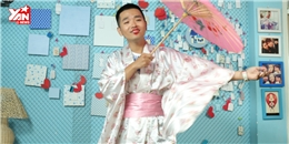 [Thử tài Sao] Phạm Hồng Phước hóa geisha cực kỳ hài hước