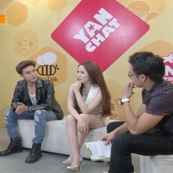 Bảo Thy cùng Hồ Quang Hiếu biểu diễn ca khúc hit theo phong cách Rap