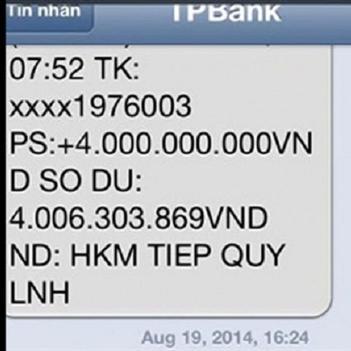 Nhân viên ngân hàng sai sót, bỗng dưng khách hàng nhận được 4 tỉ đồng