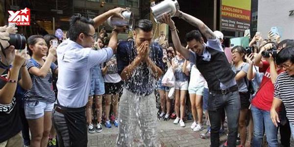 Loạt sao Hàn hào hứng tham gia sự kiện từ thiện Ice Bucket Challenge