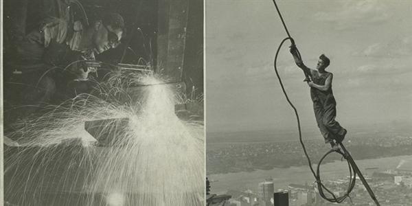 """Ngắm """"vẻ đẹp lao động"""" qua chùm ảnh xây dựng tòa nhà Empire State"""