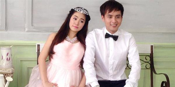 Mặc tin đồn có bầu, Lương Bích Hữu khoe ảnh cưới với Hồ Quang Hiếu