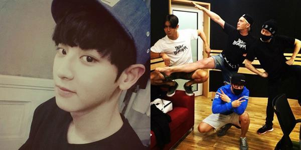 Chanyeol tặng fan hình cực đẹp trai, Donghae nhắng nhít bên Super Junior
