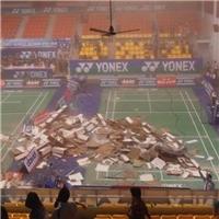 Bất ngờ... sập trần nhà thi đấu Phan Đình Phùng