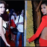 Mỹ nhân Việt gây phản cảm với váy hở sườn