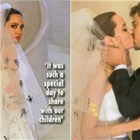 """Chiêm ngưỡng chiếc váy cưới """"độc nhất vô nhị"""" của Angelina Jolie"""