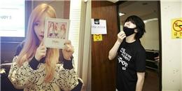 """Taeyeon quảng bá album mới của TaeTiSeo, Heechul """"rũ rượi"""" trong phòng tập"""
