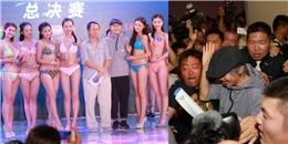 Châu Tinh Trì lộ diện bên cạnh dàn mỹ nữ mặc bikini